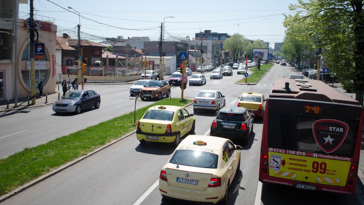 trafic rutier bulevard mamaia intersectie (1)