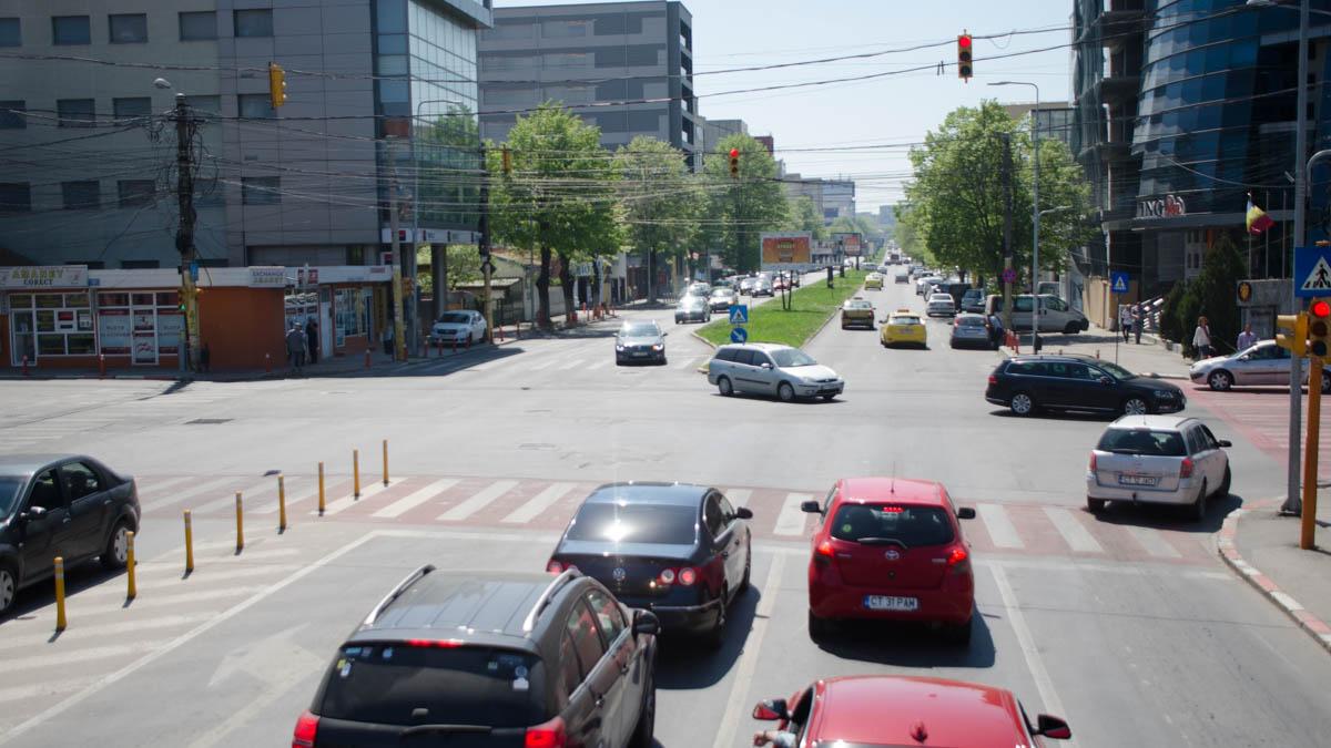 trafic rutier bulevard mamaia intersectie (3)