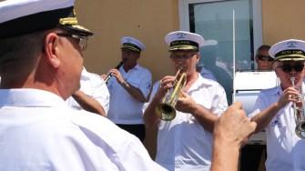 Fanfara Muzica Apelor condusă de Cornel Ignat. FOTO Adrian Boioglu