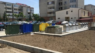 Platforme de gunoi moderne la Cernavodă. FOTO CTnews.ro