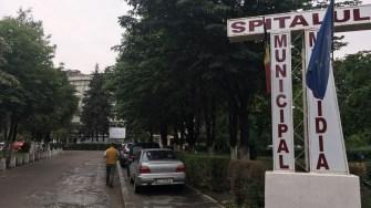 Spitalul Municipal Medgiidia înainte de reabilitare. FOTO CTnews.ro