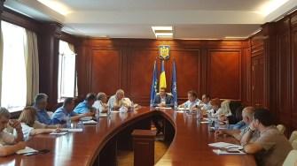 Exercițiul a implicat reprezentanții mai multor ministere, societăți private și ONG-uri. FOTO ISU Dobrogea