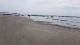 În Mamaia, turiștii lipsesc de pe plajă