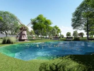 Parcul de miniaturi de la Constanța. FOTO Primăria Constanța