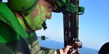 Echipajele elicopterelor Puma Naval au executat misiuni de recalificare și reintrare în bareme. FOTO MAPN