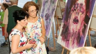 Operele participanților au fost expuse. FOTO Primăria Medgidia