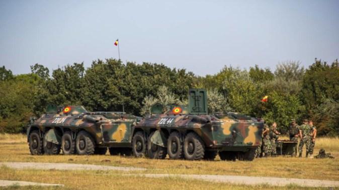 Militari din mai multe țări participă la exercițiul din Poligonul Babadag. FOTO MAPN/Gabără Gheorghe