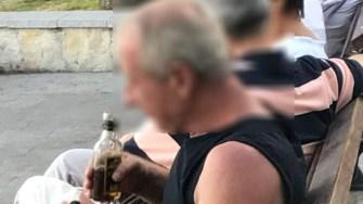 Consumul de alcool în spațiul public îți poate aduce o amendă de la Poliția Locală. FOTO DGPL Constanța