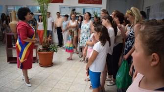Primăria Cumpăna a fost vizitată de către oaspeți. FOTO Primăria Cumpăna