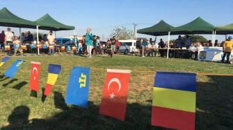 Luptele tătărești, Kureș, la Ziua comunei Castelu. FOTO CTnews.ro