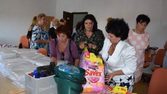 Femeile Social Democrate din județul Constanta,le-au făcut o surpriză copiilor din cadrul Centrului de Plasament Traian. FOTO FSD Constanța