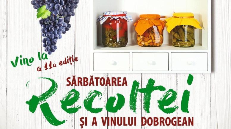 Sărbătoarea Recoltei și a Vinului Dobrogean. FOTO CJ Constanța