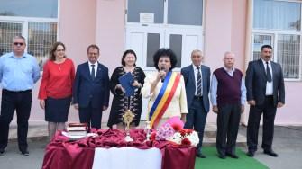 Deschiderea anului școlar la Cumpăna a fost făcută de către primarul Mariana Gâju. FOTO Primăria Cumpăna