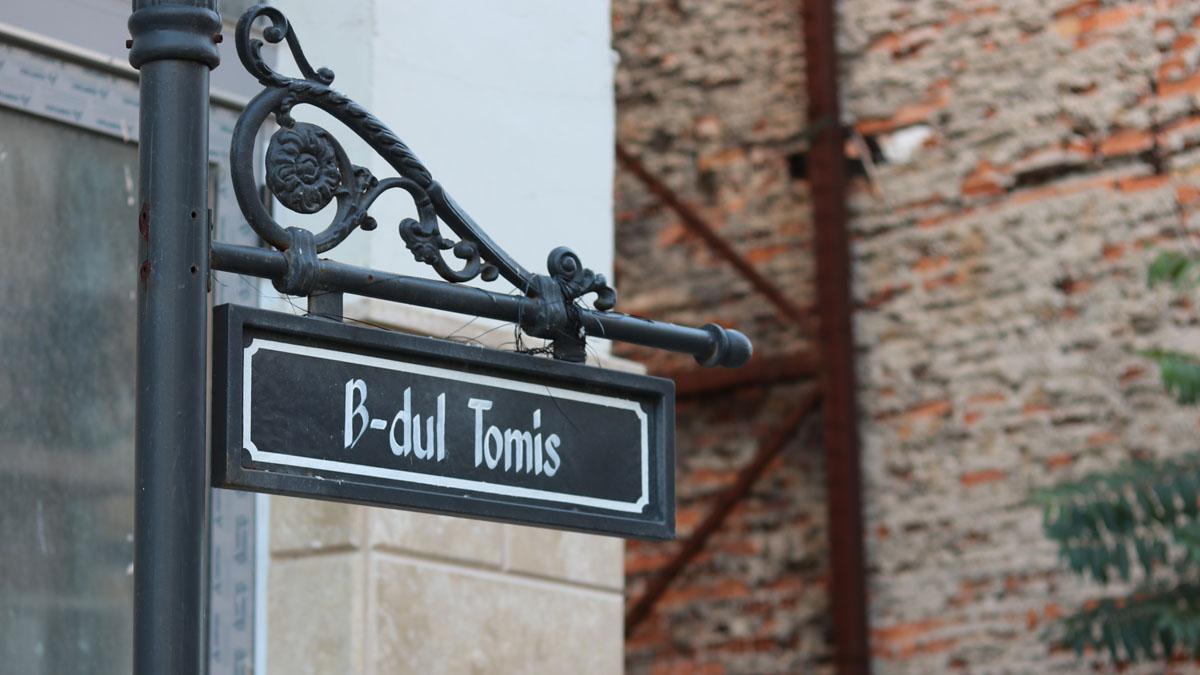 Bulevardul Tomis din Constanța. FOTO Adrian Boioglu