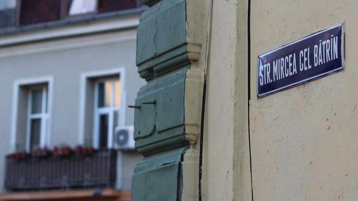 Strada Mircea cel Bătrân din Constanța. FOTO Adrian Boioglu