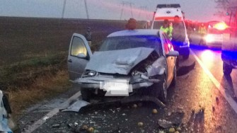 Accident grav între Oituz și Sibioara. FOTO IPJ Constanța