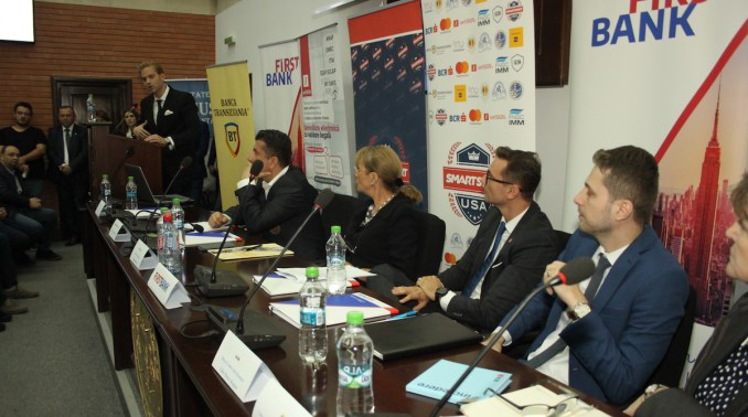 """Ilan Laufer la Conferința """"Smart Start USA"""" desfășurată la Constanța. FOTO CTnews.ro"""