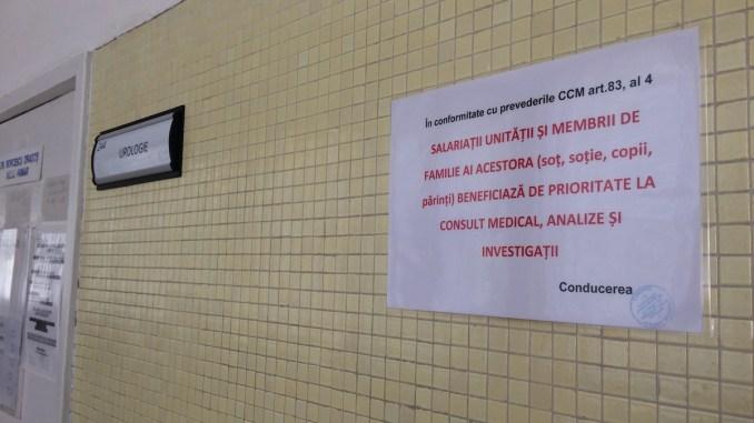 Sănătate cu prioritate pentru familiile cadrelor medicale. FOTO CTnews.ro