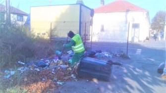 Angajații Polaris au continuat campania de curățare a orașului. FOTO Polaris M Holding