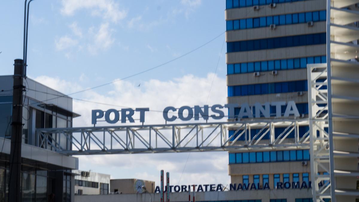Port Constanta intrare