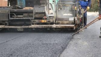 Lucrări de asfaltare în Cernavodă FOTO Adrian Boioglu