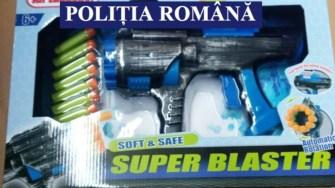 Jucăriile contrafăcute au fost depistate de către polițiști. FOTO IPJ Constanța