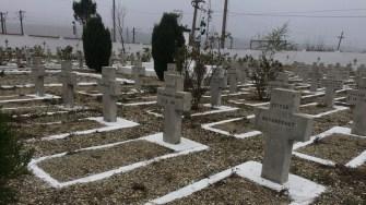 Cimitirul eroilor din comuna Mircea Vodă. FOTO CTnews.ro