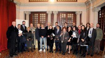 Primarul orașului Ovidiu, George Scupra, la conferința internațională de închidere a anului ovidian, de la Sulmona FOTO Primăria Ovidiu