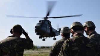 Antrenamentele scafandrilor militari din cadrul Forțelor Navale Române. FOTO Forțele Navale