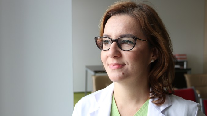 Dr. Carmen Mocanu, Medic specialist chirurgie ORL la Ovidius Clinical Hospital. FOTO Adrian Boioglu