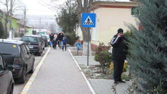 Stradă din comuna Albești. FOTO CTnews.ro