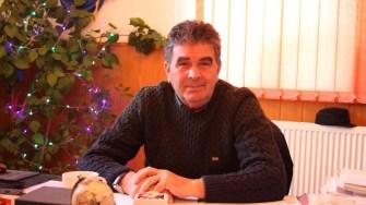 Primarul comunei Ostrov, Niculae Dragomir. FOTO CTnews.ro