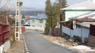 Stradă din comuna Ostrov. FOTO CTnews.ro