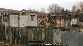 Construcție în comuna Poarta Albă. FOTO CTnews.ro