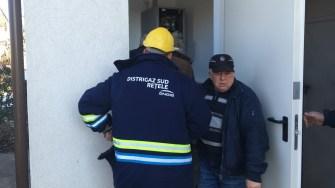 Inaugurarea rețelei de gaze din satul Poiana. FOTO CTnews.ro