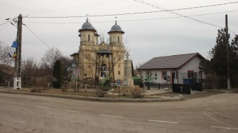 Biserica din comuna Târgușor. FOTO CTnews.ro