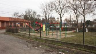 Loc de joacă în comuna Târgușor. FOTO CTnews.ro