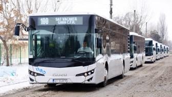 Noile autobuze RATC au intrat în funcțiune. FOTO Primăria Constanța