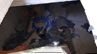 Cei doi muncitori au fost găsiți intoxicați. FOTO ISU Dobrogea