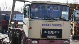 Utilaje ale Primăriei Cernavodă. FOTO Ctnews.ro