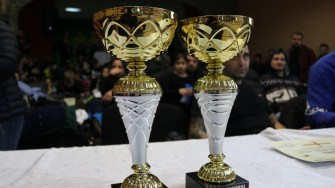 Trofee de la Gala K1 de la Fântânele. FOTO Adrian Boioglu