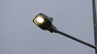 Sistemul de iluminat la parcul Via Verde din Cernavodă. FOTO Adrian Boioglu