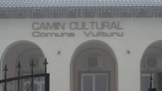 Căminul cultural din comuna Vulturu. FOTO CTnews.ro