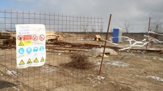 Șantier în Hârșova. FOTO Ctnews.ro