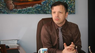 Primarul din Hârșova, Viorel Ionescu. FOTO CTnews.ro