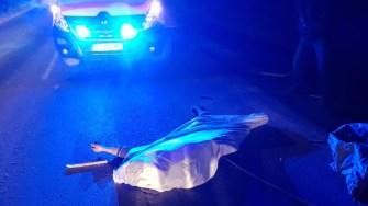În urma accidentului, căruțașul a decedat. FOTO IPJ SAJ Constanța