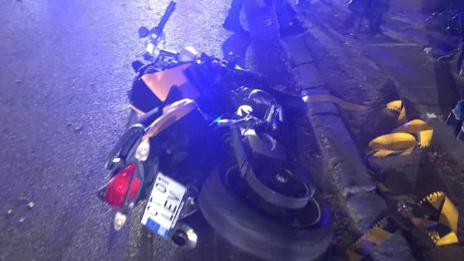 Femeia a fost accidentată mortal de către motociclist. FOTO IPJ Constanța