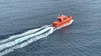 Misiunea de căutare s-a făcut atât pe apă cât din din aer. FOTO RAS Tuzla