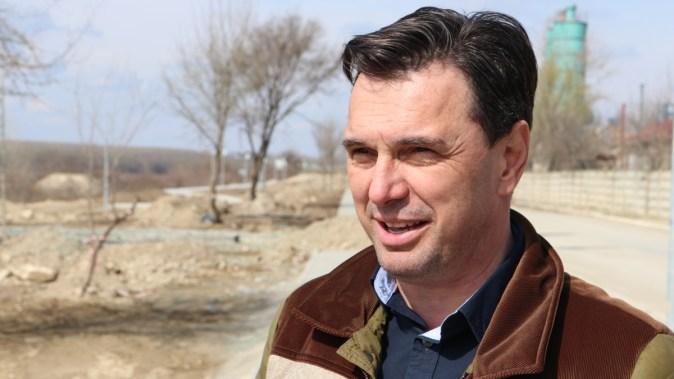 Primarul orașului Cernavodă, Liviu Negoiță. FOTO Adrian Boioglu