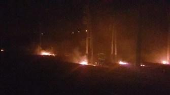 Zeci de incendii de vegetație uscată în doar câteva zile